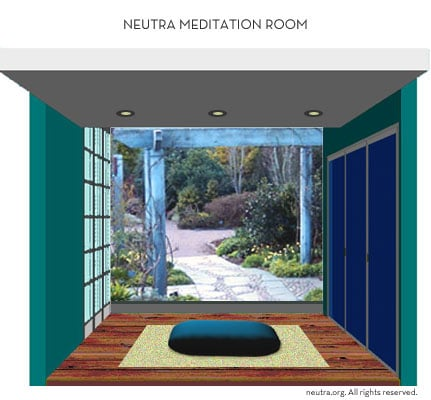 Neutra Meditation Room