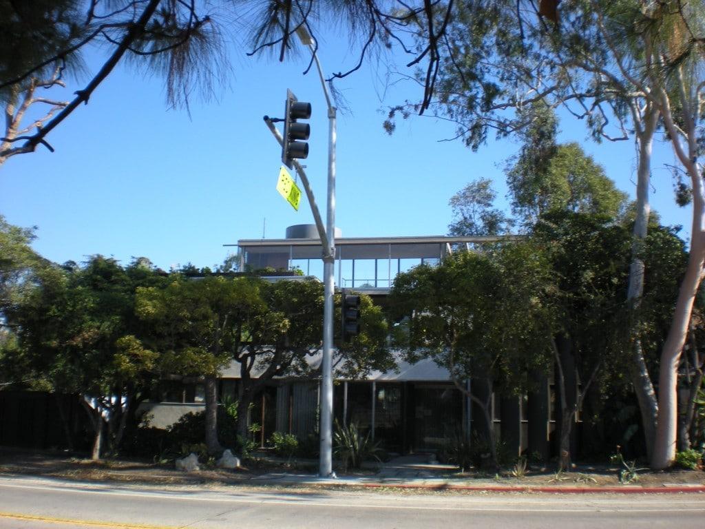 Crosswalk in front of VDL