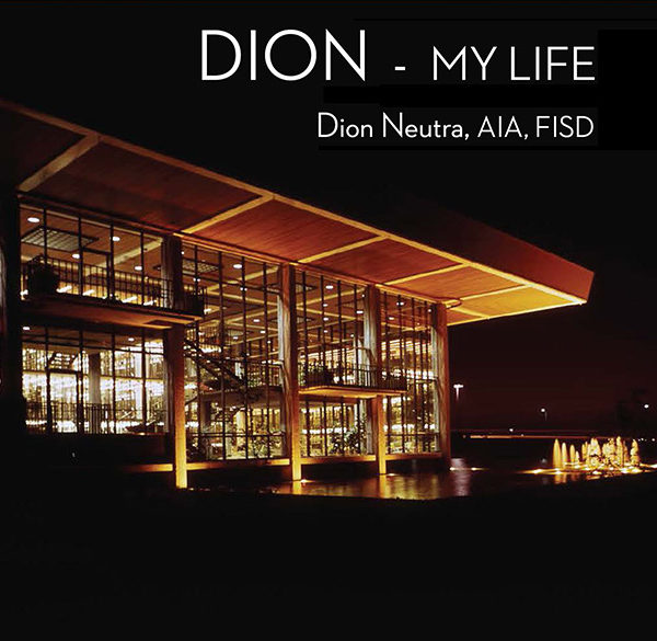 Dion Neutra My Life Cover