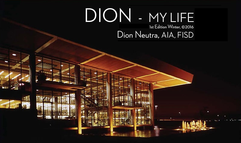 Dion Neutra - My Life Cover