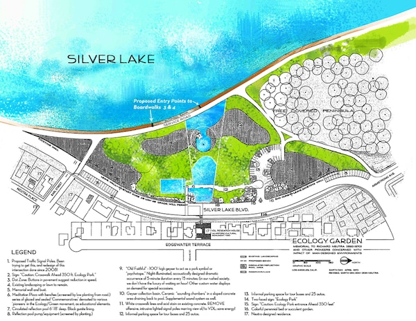 Plans for the Silver Lake Ecology Garden