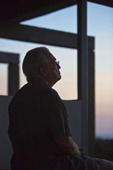 Dion; reflecting at Roatan '16