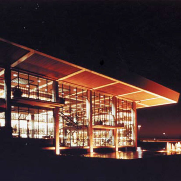 Neutra Huntington Beach Library