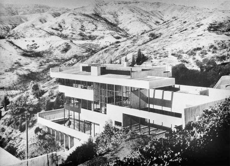 Lovell Health House Los Angeles Student Package Richard And Dion Neutra Architecture