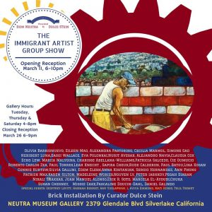 Immigrant Artist Show flyer