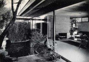 Reunion House Interior 1950