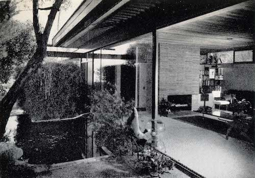Reunion House Interior 1950