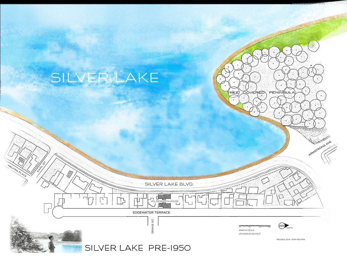 Silver Lake plan pre-1950