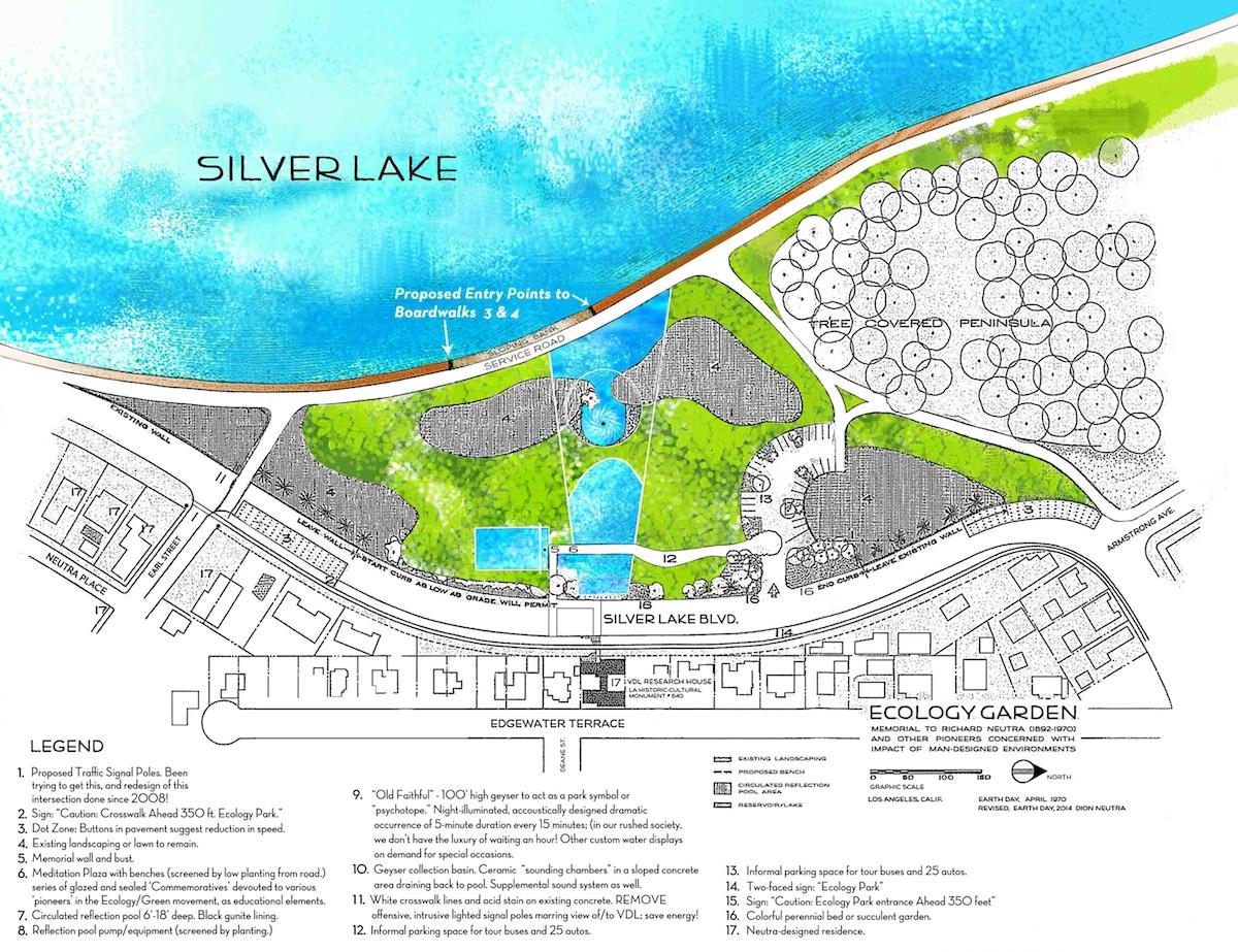 A plan for the Silver Lake Ecology Garden