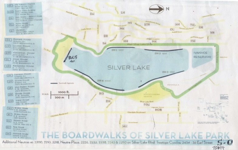 Silver Lake Board Walk Plan