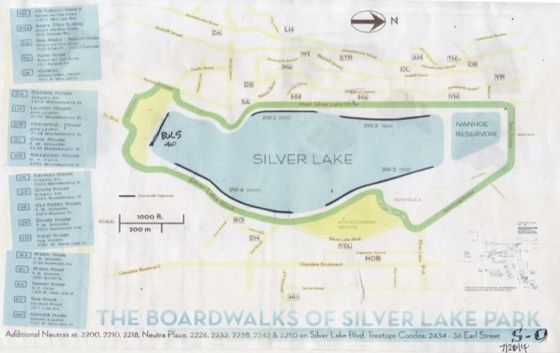 Silver Lake Board Walk Plan