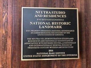 VDL National Historic Registry Plaque