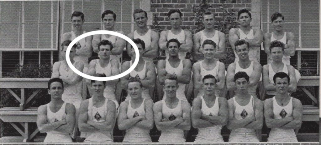 Neutra, Dion Gymnastics in 1942 yearbook