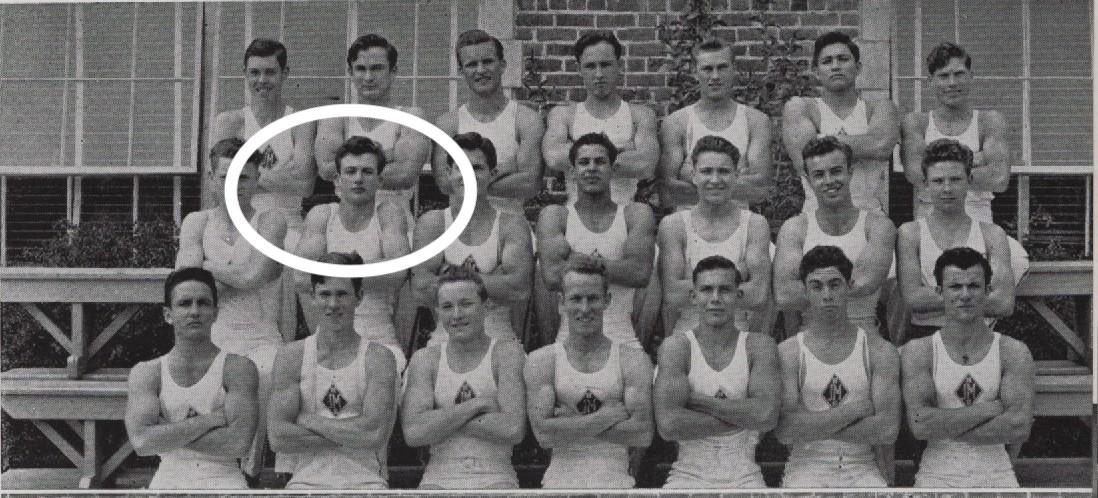 Neutra, Dion Gymnastics in 1942 yearbook