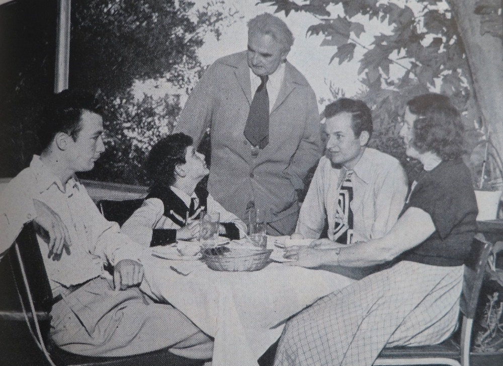 The Neutra family: Dione, Richard, Frank, Dion, Raymond