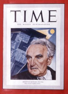 Time Magazine cover featuring Richard Neutra