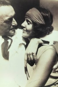 Dione Neutra with Richard , 1929